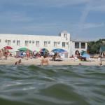 Вид на отель «Пляж»