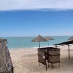 Пляж базы отдыха Приморкая Галатея
