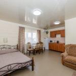 Номер «Люкс» 3-4-х местный с кухонной зоной 2+2 ― 2 этаж