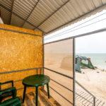 Пляжный домик «Комфорт»