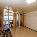 «Апартаменты» двухкомнатные 6-8-ми местные с видом на море
