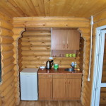 Номера Люкс 2-3-х местные - кухонная зона