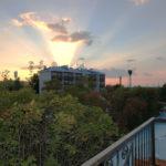 Номер «Duplex» 6-ти местный, вид с балкона