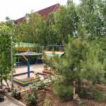 Территория базы отдыха Светлана