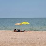 Пляж базы отдыха