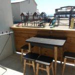 Номер «Люкс» 4-х местный двухкомнатный с видом на море