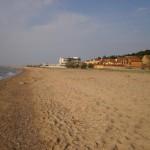 Каролино-Бугаз. Пляж.