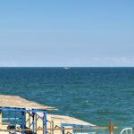 Вид из пляжного корпуса