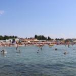 Железный порт - вид на пляж с моря
