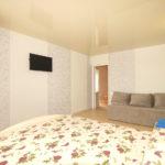 Номер «Люкс» 2-7-ми местный трехкомнатный с двумя раздельными спальнями, кухней-столовой и индивидуальным балконом