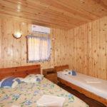 Домик «Полулюкс» 3-х местный, спальня