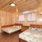 Домик «Полулюкс» 4-х местный, спальня