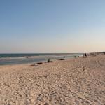 Пляж возле базы отдыха Шторм