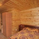 Номер «Люкс» 2-х местный в деревянном срубе