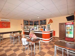 Кафе «ПодкреПицца» ― основной зал