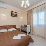 «Апартаменты» трехкомнатные ― вторая спальня