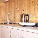Кухня в коттедже «Люкс»