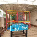 Детская площадка и настольный футбол