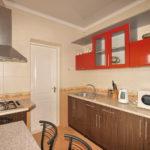 Номер «Люкс» 5-ти местный двухкомнатный улучшенной планировки с кухней