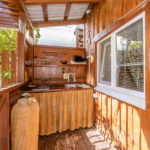 Кухня на террасе