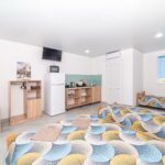Номер «Люкс» с кухней, три кровати
