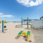 Тренажеры на пляже