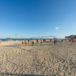 Спортивная площадка на пляже