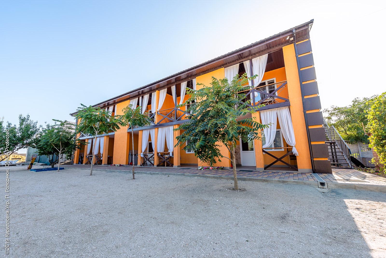 База отдыха «Альбатрос» в Степановке Первой