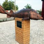 Памятник «Его величество осетр царь-рыба»
