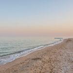 Бердянская коса, пляж