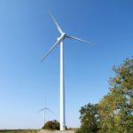 Ветровая электростанция рядом с Приморским Посадом