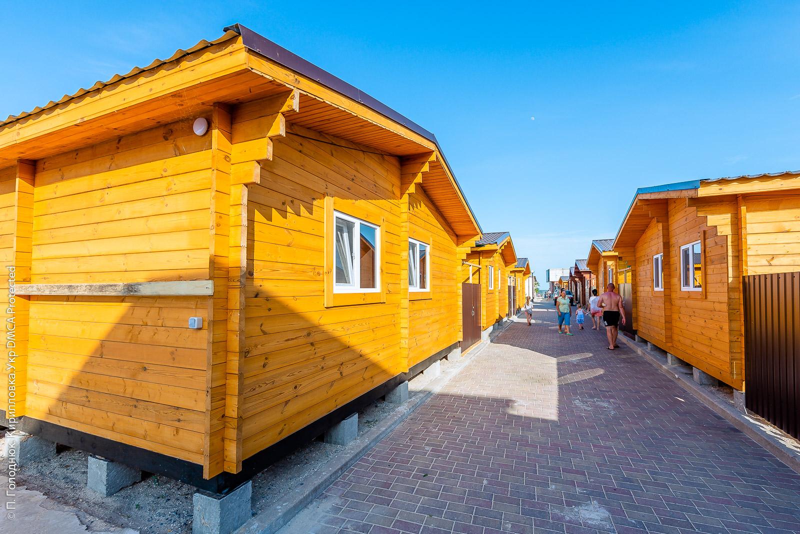 Пляжные коттеджи «Ramzes Beach Houses»