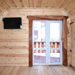 Номера 2-х местные без кухни в деревянных коттеджах, 2 этаж