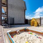 Батут и песочница
