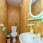 Номер «С удобствами» 3-4-х местный в деревянном домике